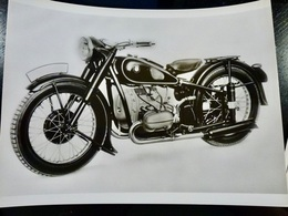 Photo PRESSE : Photo XXL _ MOTO BMW R-51 _ 1938 _ VINTAGE - Cars