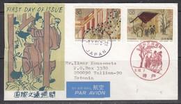 Brief Japan-Estland. 1991. - Airmail
