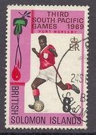 Solomon Islands - 1969 Sport, Football, South Pacific Games, Port Moresby - Used - Solomoneilanden (1978-...)