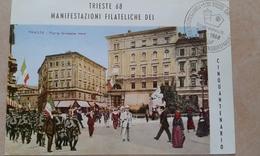 1968 - TRIESTE - CINQUANTENARIO REDENZIONE - MANIFESTAZIONE - Briefmarken