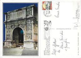 Benevento. Arco Di Traiano. Viaggiata 1994 - Benevento