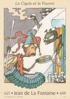 457. JEAN DE LA FONTAINE  LA CIGALE ET LA FOURMI - Prêts-à-poster:  Autres (1995-...)