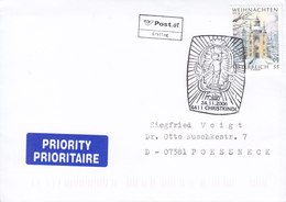 Austria Priority PRIORITAIRE Label CHRISTKINDL 24.11.2006 Cover Brief POESSSNECK Pößneck Germany - 1945-.... 2. Republik