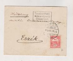 CROATIA HUNGARY BROD 1915  Cover - Croazia