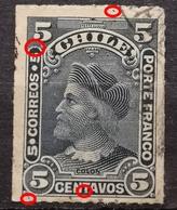 COLUMBUS-5 C-ERROR - TI I-CHILE - 1900 - Chile