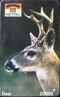 VIÊT- NAM  -  Cards  -  VIETTEL  -  FAKE  -  Deer  -  20000 D - Vietnam