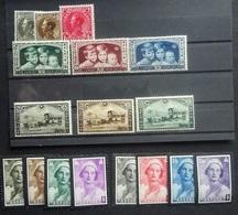 BELGIE 1934-35    Nr. 401 - 403 / 404 - 406 / 407 - 409 / 411 - 418   Scharnier *     CW 25,00 - Belgium