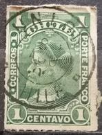 COLUMBUS-1 C-T II-POSTMARK UNION -CHILE - 1900 - Chile