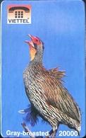 VIÊT- NAM  -  Cards  -  VIETTEL  -  FAKE  -  Gray-breasted  -  20000 D - Vietnam