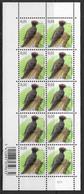 België/Belgique 2009 - Velletje/Feuillet F3939xx - Vogels - Planche 1 - Oiseaux. - Panes