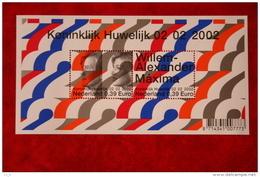 Koninklijk Huwelijk ; NVPH 2046 (Mi Block 74); 2002 POSTFRIS / MNH ** NEDERLAND / NIEDERLANDE / NETHERLANDS - Unused Stamps