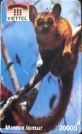 VIÊT- NAM  -  Cards  -  VIETTEL  -  FAKE  -  Mouse Lemur  -  20000 D - Vietnam