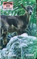 VIÊT- NAM  -  Cards  -  VIETTEL  -  FAKE  -  Wild Goat  -  20000 D - Vietnam