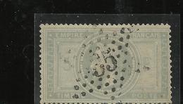 étoiles De Paris : étoile N°35 Sur N° 33 - Marcophilie (Timbres Détachés)
