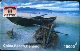 VIÊT- NAM  -  Cards  -  VIETTEL  -  FAKE  -  Danang, China Beach  -  10000 D - Vietnam