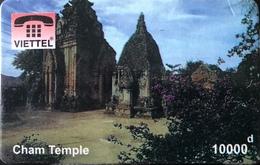VIÊT- NAM  -  Cards  -  VIETTEL  -  FAKE  -  Cham Temple  -  10000 D - Vietnam