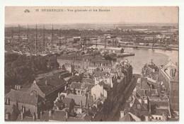CPA 59 . DUNKERQUE . VUE  GENERALE ET  LES  BASSINS - Dunkerque
