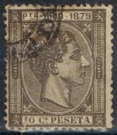 Sello 10 Cts Alfonso XII, Colonia Española PUERTO RICO 1879, Num 24 º - Puerto Rico
