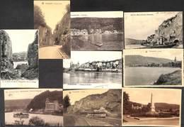 Profondeville - Lot 9 Cartes (Monument Walgrappe Château Meuse...) (petit Prix Fixe) - Profondeville