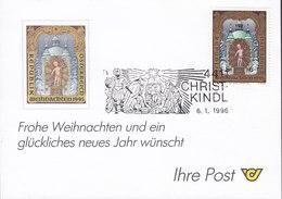 Austria CHRISTKINDL 6.1.1996 Card Karte - 1945-.... 2. Republik