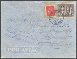!■■■■■ds■■ Portugal 1951 AF#740 National Revolution To The Netherlands (c0214) - 1910-... Republic