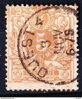 OBL N° 28 AMBULANTS   OUEST 4          1869 - 1869-1883 Léopold II