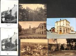 Gembloux - Lot 7 Cartes (café De La Gare Oldtimer Château Institut...) (petit Prix Fixe) - Gembloux