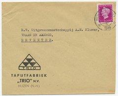 Firma Envelop Huizen 1948 - Tapijtfabriek - Unclassified