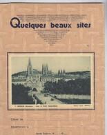 Protège Cahier Quelques Beaux Sites - Burgos - 4 Volets - Etat Moyen - W