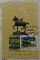 Carte Maximum Card  France 2010 Normandie Comme  J'aime  Cheval Percheron Statue Mortagne - 2000-09