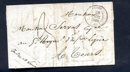 240520//// LETTRE PRECURSEUR...........BLOIS...............taxe Manuscrite - 1801-1848: Precursori XIX