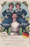 Allemagne - GRUSS Vom TURNFEST  - Illustrateur N°5956 (lot Pat 110/2) - Sonstige