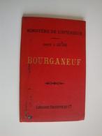 Carte Régionale De Bourganeuf éditée Par Le Ministère De L'Intérieur, Creuse,Haute-Vienne - Geographical Maps