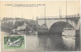 NANTES : L'ECROULEMENT DU PONT DE PIRMIL - Nantes