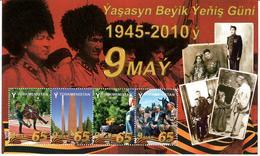 Turkmenistan.2010 Victory Day 1945-2010. S/S Of 4v X Y Michel # BL31(273-76) - Turkmenistan