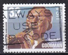 United States, 1996 - 32c Benny Goodman - Nr.3099 Usato° - Vereinigte Staaten