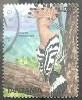 141. TANZANIA  USED STAMP BIRDS (HOOPOE) - Tanzanie (1964-...)