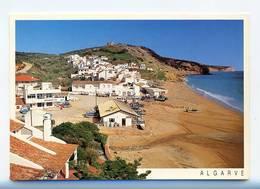 PRAIA DA SALEMA, Vila Do Bispo, Algarve - Vista Da Praia  (2 Scans) - Faro