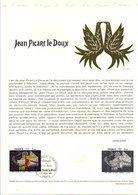 DOCUMENT FDC 1980 PEINTURE DE JEAN PICART LE DOUX - Documenten Van De Post