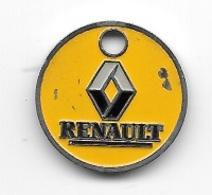 Jeton De Caddie  Ville, Automobiles  RENAULT  Verso  ETS  BLOT  60740  ST  MAXIMIN   Recto  Verso  ( Utilisé ) - Jetons De Caddies