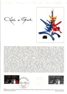 DOCUMENT FDC 1980 CHARLES DE GAULLE - Documents De La Poste