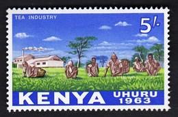 Kenya 1963 / Local Motives, Tea Industry / MNH / Michel 12 - Heilpflanzen