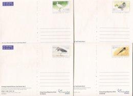 Hongkong Mi# ? Ganzsachen Satz- Fauna Birds - Postal Stationery