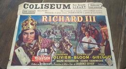 Dinant. Affiche Cinéma Originale. Richard III. De William Shakespeare. Laurence Olivier - Claire Bloom - John Gielgud - Affiches & Posters