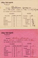 Collège Saint-Augustin à Enghien - Diplomas Y Calificaciones Escolares