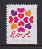 USA, 2018, MNH, LOVE ,1v - Briefmarken