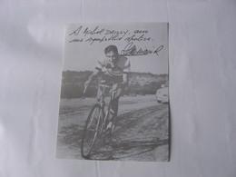 Cyclisme - Autographe De Raphaël Geminiani - Ciclismo