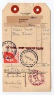 1969 USA TO DUBROVNIK,CROATIA,YUGOSLAVIA, PARCEL CARD,TITO - 1945-1992 Sozialistische Föderative Republik Jugoslawien