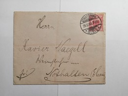 Deutsches Reich  Briefumschlag 1899 - Allemagne
