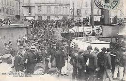 LA ROCHELLE ( 17 ) - Débarquement Des Forçats Et De Récidivistes Pour St Martin - Prison